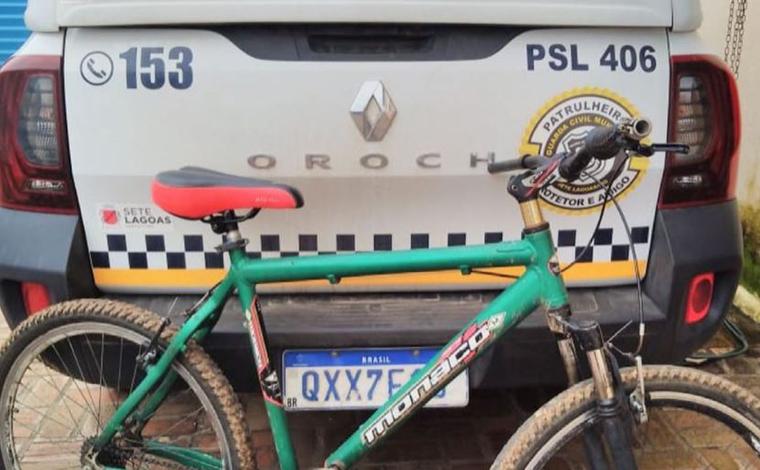 Guarda Municipal recupera bicicleta no bairro Verde Vale III