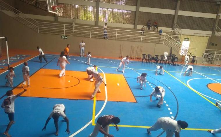 Novo ginásio Dr. Márcio Paulino recebe encontro de capoeira em Sete Lagoas