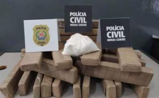 Pastor é preso por tráfico de drogas e posse ilegal de arma de fogo no interior de Minas