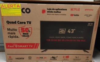 Ladrão se arrepende de furto, compra televisão parcelada e vai até delegacia devolver objeto
