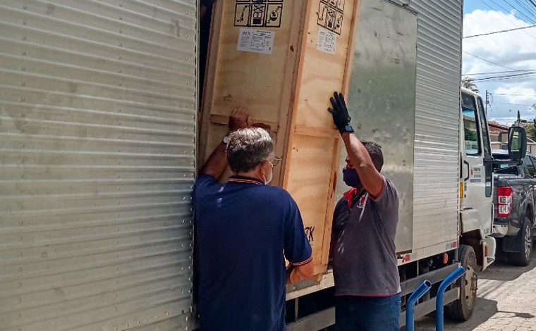 Sete Lagoas recebe equipamentos para abrir mais leitos de UTI destinados para pacientes com Covid-19