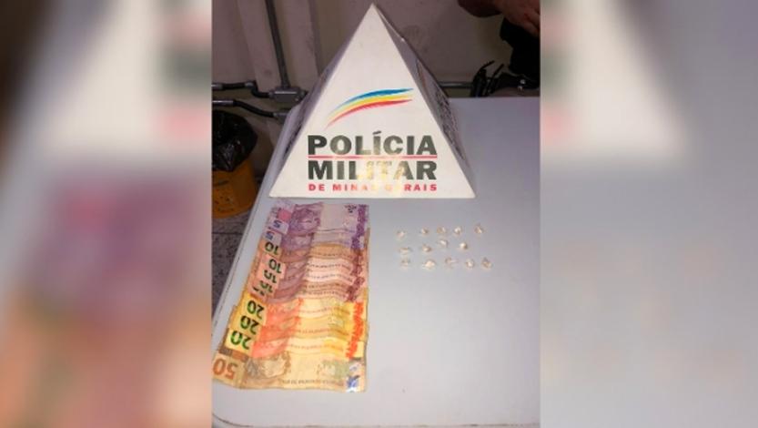 Adolescente é apreendido por tráfico de drogas em Pedro Leopoldo