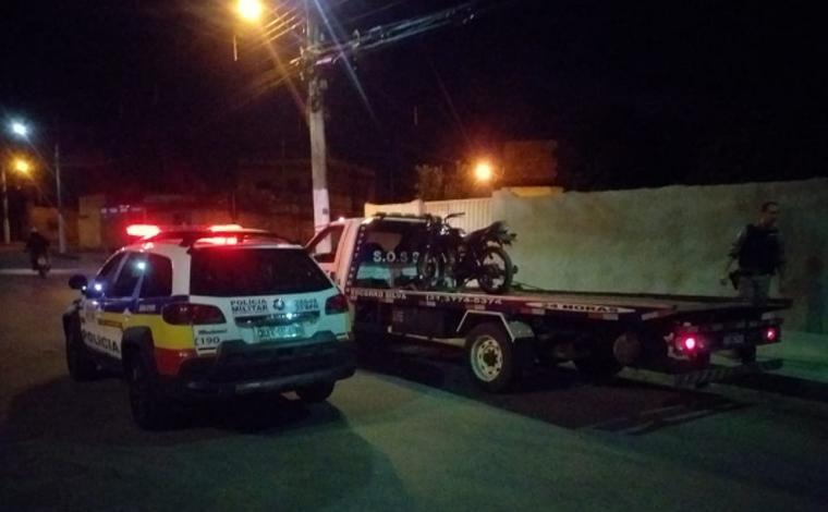Homem rouba motocicleta e é preso pela Polícia Militar no bairro Belo Vale em Sete Lagoas
