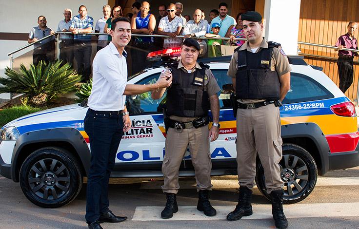 Polícia Militar recebe novas viaturas em cidades da região