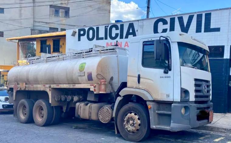 Caminhoneiro é preso após entregar gasolina adulterada em posto de combustível em Betim
