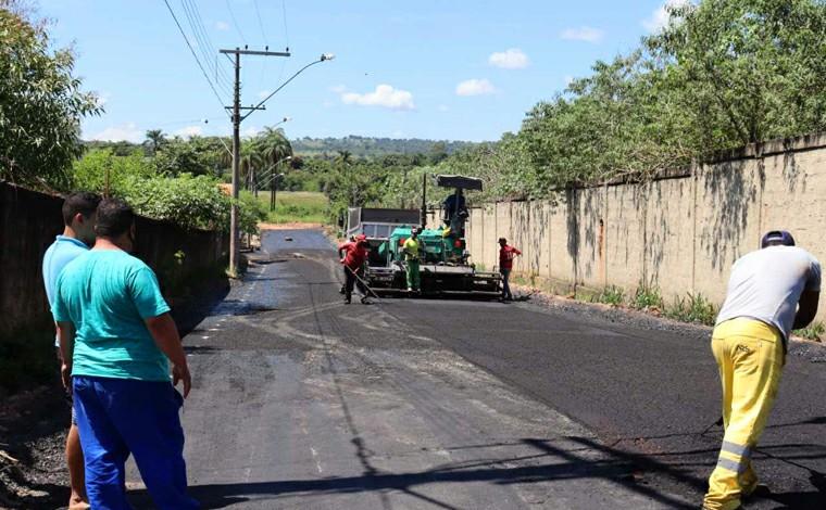 Moradores do bairro das Indústrias II ganham nova rua Aldo Costa; obras estão em fase de finalização