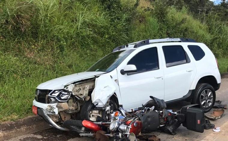 Homem perde parte da perna após bater em carro, cair e ser arrastado por outro veículo na BR-040