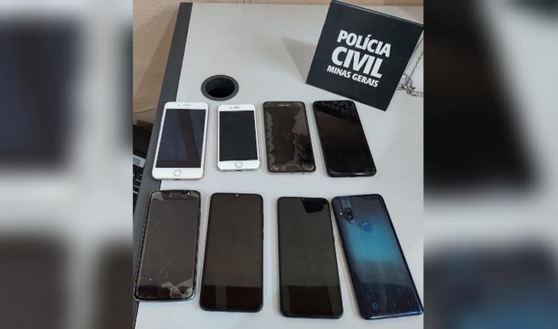 Polícia Civil realiza operação de combate ao furto e roubo de aparelhos celulares em Sete Lagoas