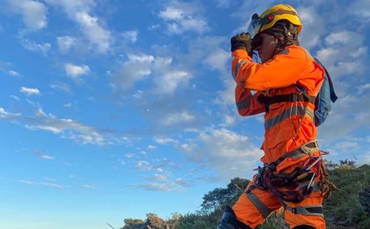 Bombeiros localizam homem que ficou perdido no Parque Estadual da Serra do Rola Moça