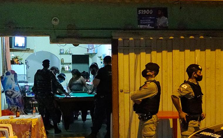 Polícia Militar fiscaliza aglomerações e presta apoio a operações municipais em Minas Gerais