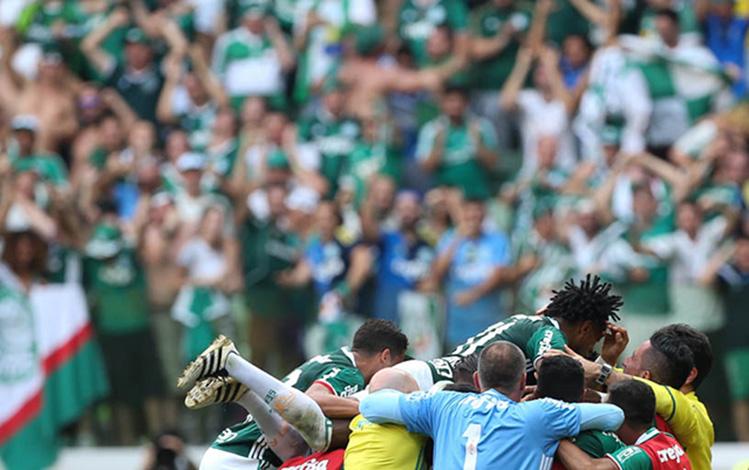 Palmeiras vence em casa e se sagra campeão Brasileiro