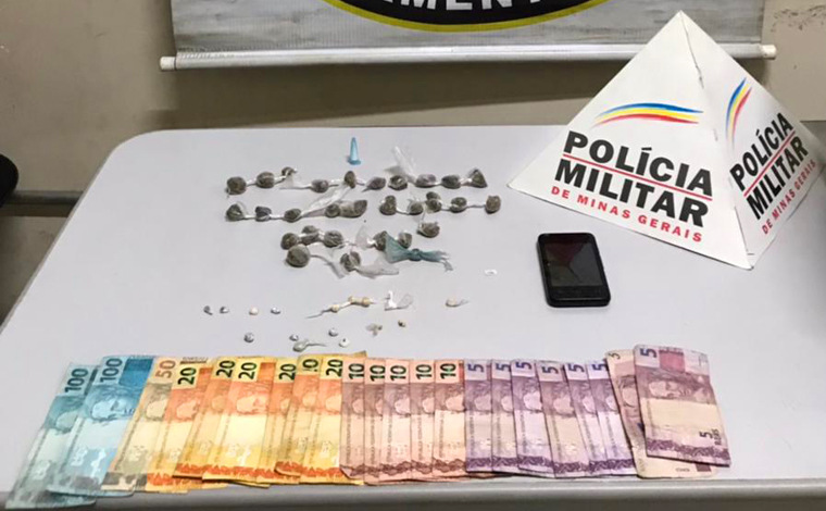 Polícia Militar apreende adolescente de 15 anos por tráfico de drogas em Pedro Leopoldo