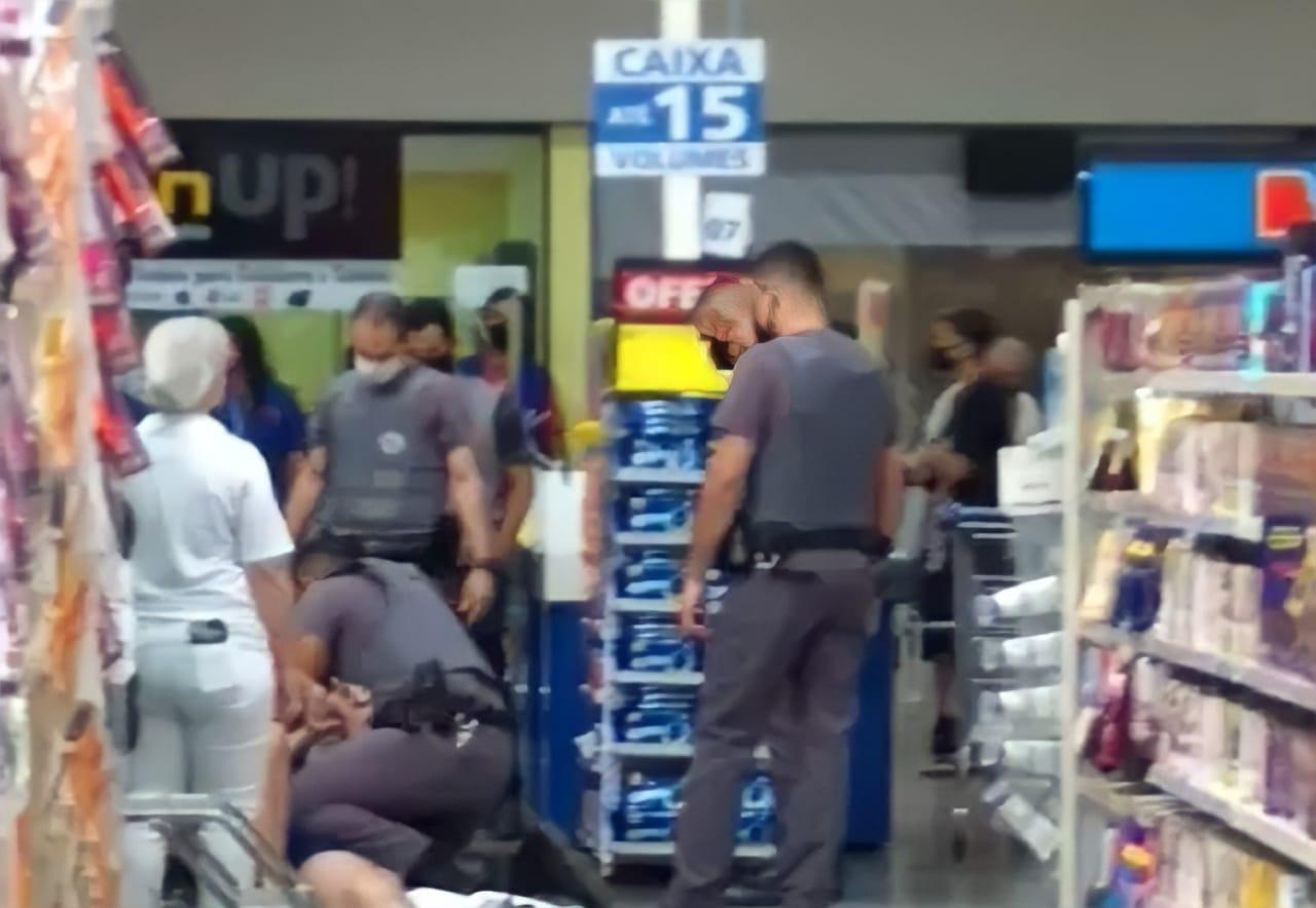 Paciente diagnosticado com Covid-19 foge de hospital em São Paulo e entra em supermercado