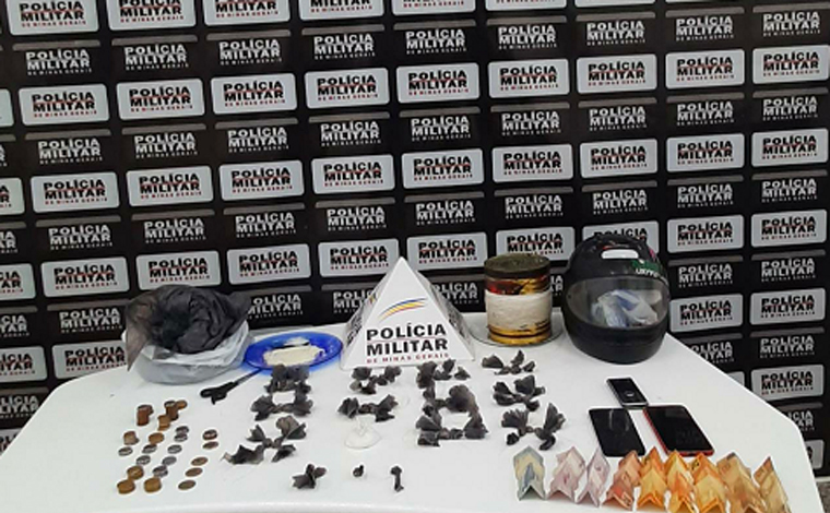 PM prende homem que comercializava drogas na modalidade 'Delivery' no bairro Nova Cidade