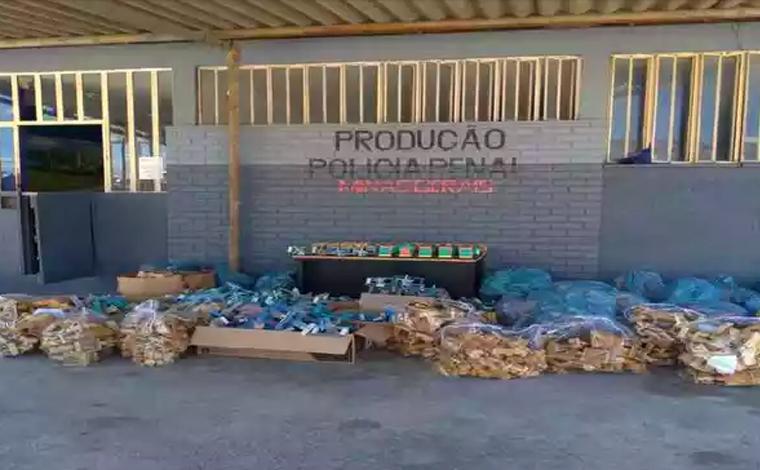 Brinquedos produzidos por presos serão distribuídos para crianças na Páscoa