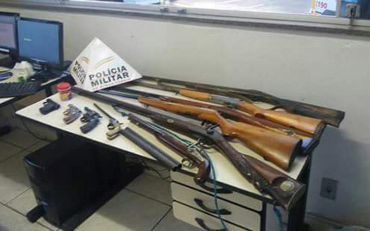 Polícia prende fabricante ilegal de armas em Sete Lagoas 4aa6e1367e8