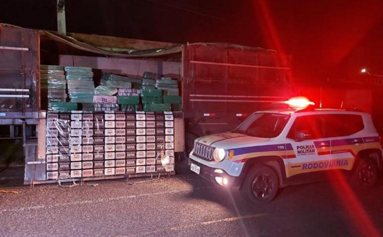 Polícia Militar Rodoviária apreende quase 4 toneladas de maconha em cidade mineira