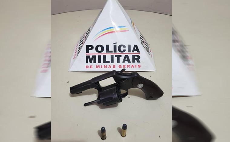 Polícia Militar prende homem por posse ilegal de arma de fogo em Matozinhos