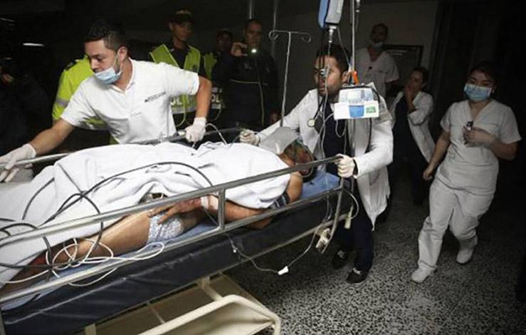 Tragédia: Avião da Chapecoense cai na Colômbia e 76 pessoas morrem