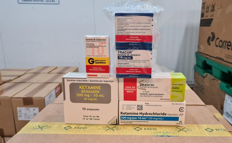 Covid-19: Minas Gerais recebe mais de 15 mil ampolas de medicamentos do 'kit intubação'