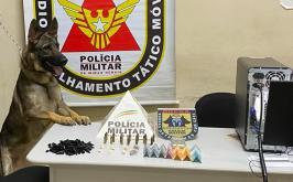 Adolescente de 16 anos é apreendido por tráfico de drogas em Pedro Leopoldo
