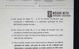 Cão que assinou primeira petição no Brasil contra agressor consegue medida protetiva