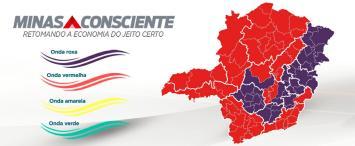 Governo Estadual decide manter Sete Lagoas na 'onda roxa' do programa Minas Consciente