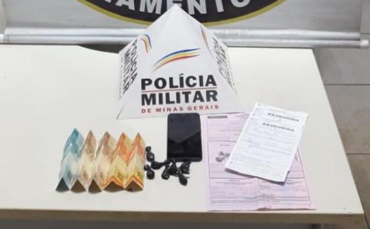 Homem é preso em flagrante por tráfico de drogas no bairro Maracanã em Prudente de Morais