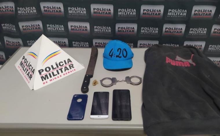 Homem é preso por roubo de aparelho celular no bairro Santa Luzia em Sete Lagoas