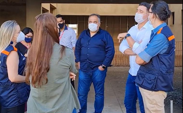 Secretaria de Estado de Saúde apresenta projeto de retomada das obras do Hospital Regional