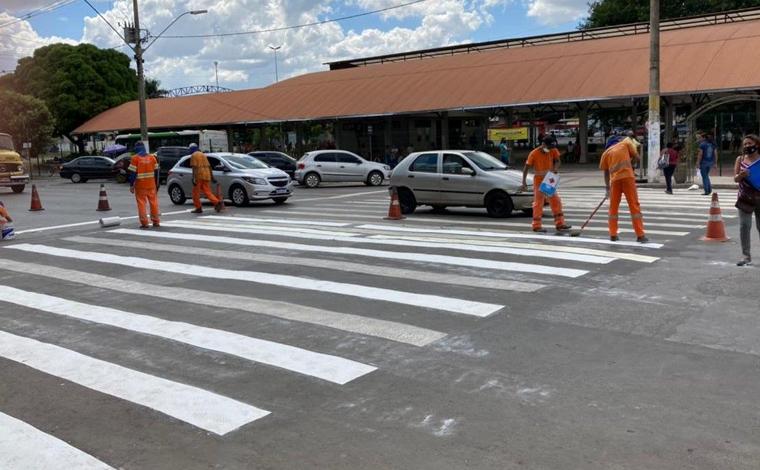 Seltrans revitaliza sinalizações para melhorar segurança no trânsito de Sete Lagoas