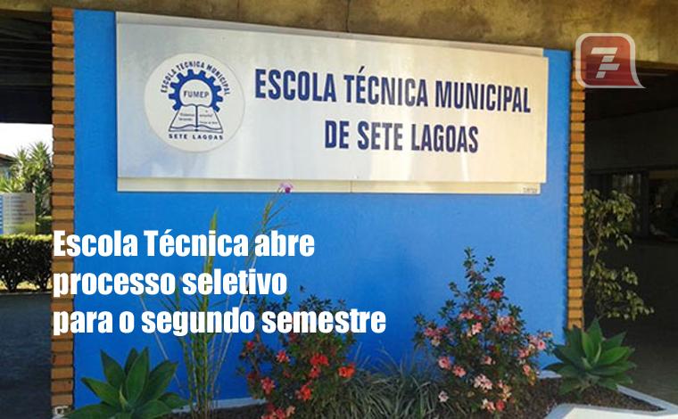 Escola Técnica Municipal abre processo seletivo para o 2º semestre de 2021