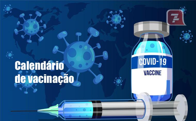 Vacinação - Amanhã, terça-feira (27), é a vez de quem recebeu a primeira dose até dia 31 de março