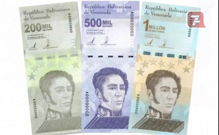 De US$ 100 mil a 1 milhão de bolívares: conheça e veja cédulas com muitos zeros