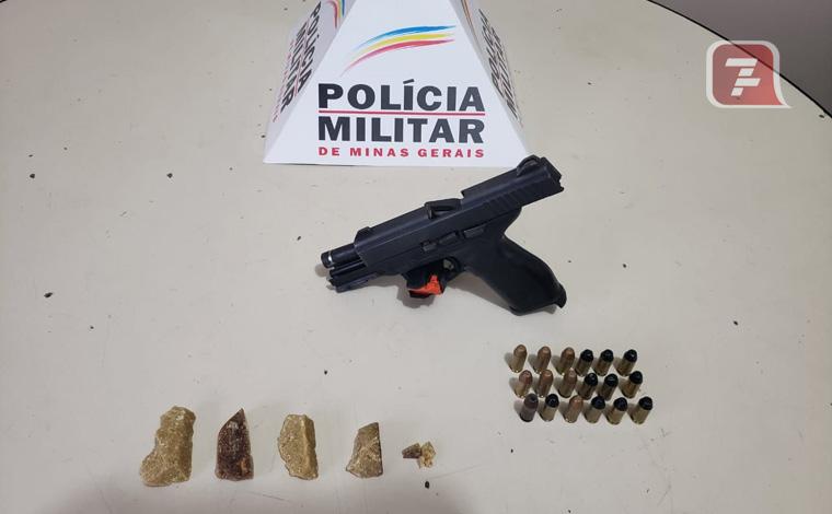 Menor é apreendido em Matozinhos com arma de fogo e drogas