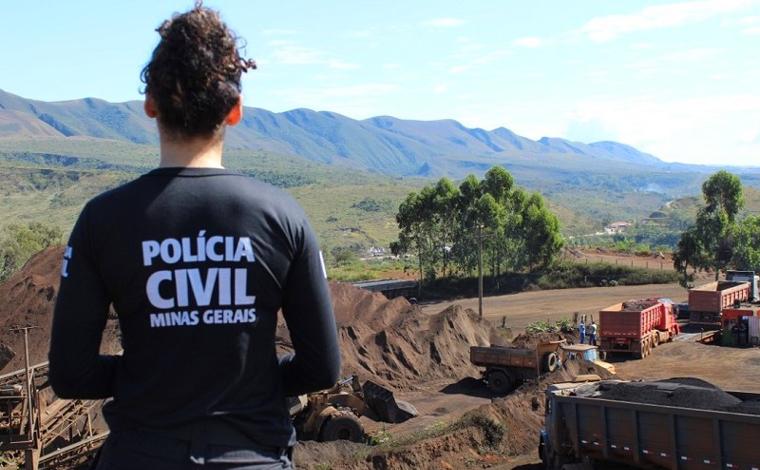 PC cumpre mandados em Sete Lagoas e em outras 4 cidades mineiras para investigar crimes ambientais