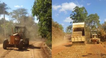 Estradas de áreas rurais em Sete Lagoas recebem serviço de patrolamento