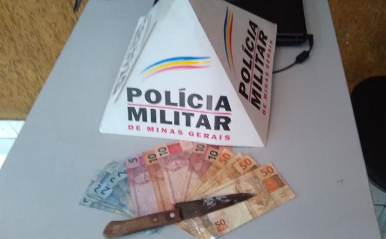 Polícia Militar age rápido, prende autor de roubo e recupera dinheiro em Pedro Leopoldo