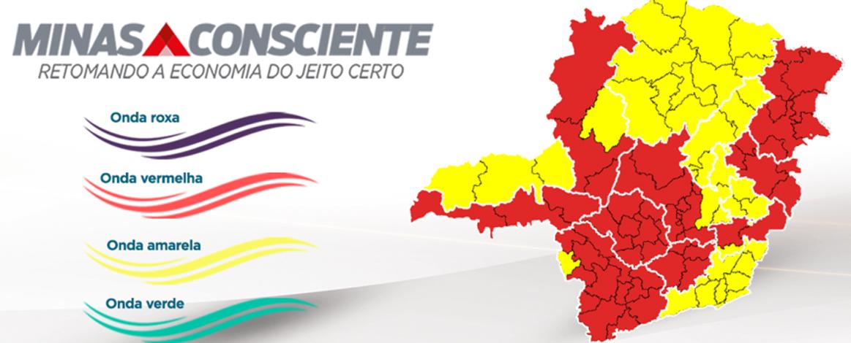 Minas Consciente: microrregião de Sete Lagoas se mantém na onda vermelha programa