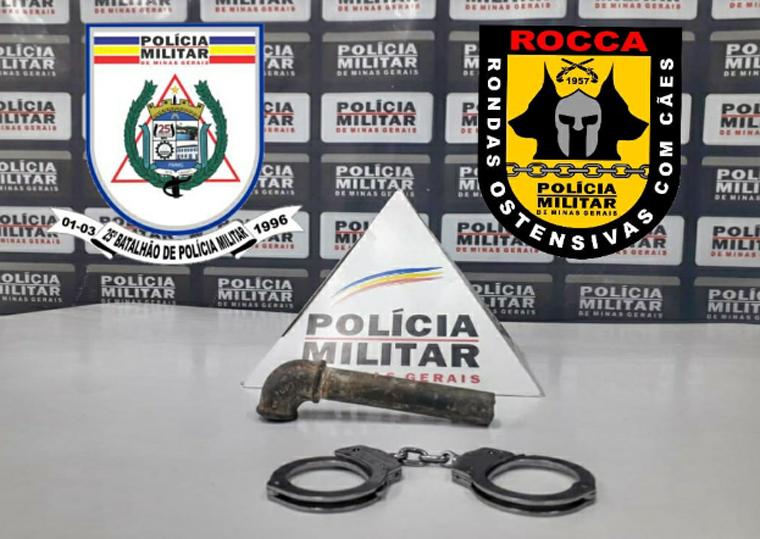 Polícia Militar apreende menor por roubo de motocicleta no bairro Nova Serrana em Sete Lagoas