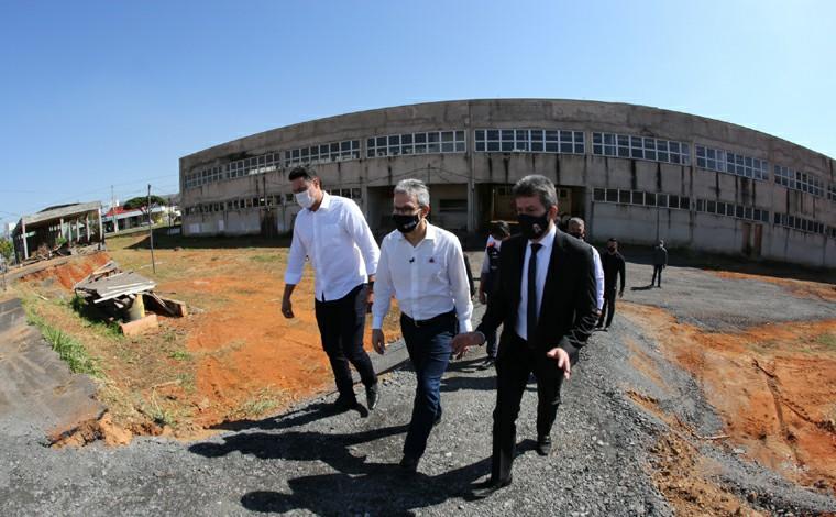 Romeu Zema apresenta plano de retomada das obras do Hospital Regional de Sete Lagoas