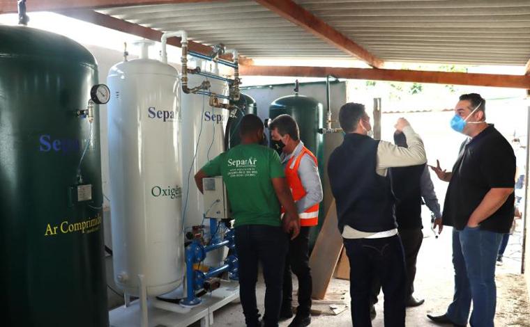 Usina de oxigênio instalada em Sete Lagoas entra em operação