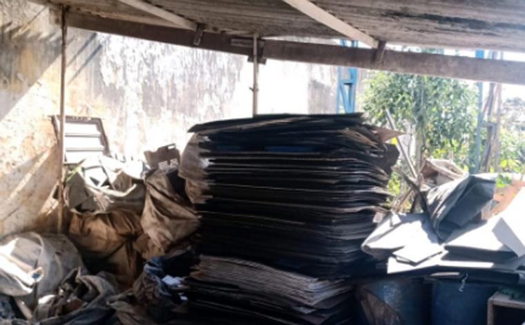 Polícia Civil prende suspeito de desviar materiais recicláveis de empresa de Sete Lagoas