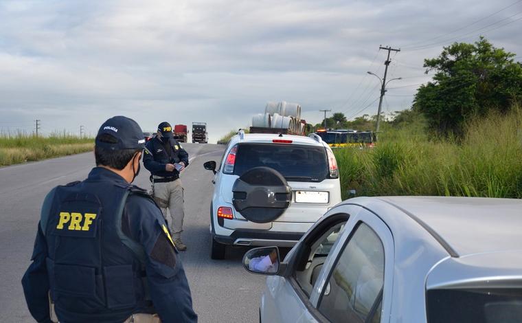 Policiamento é reforçado nas rodovias estaduais e federais durante feriado de Corpus Christi