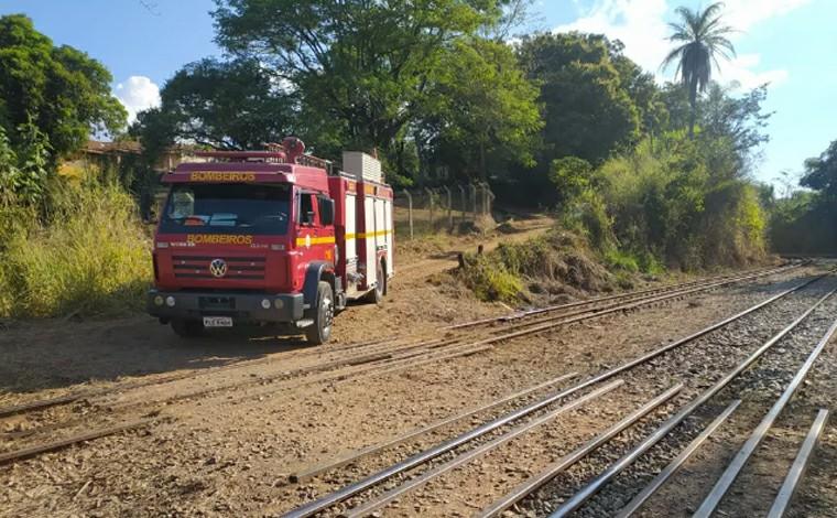 Homem tem diversas fraturas e morre após ser atropelado por trem em Vespasiano, na Grande BH