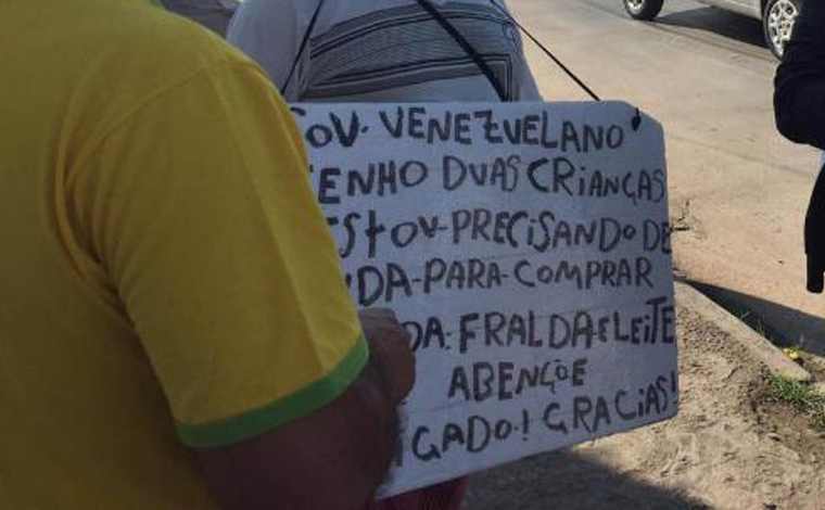 Secretaria de Assistência Social faz abordagens com imigrantes venezuelanos em Sete Lagoas