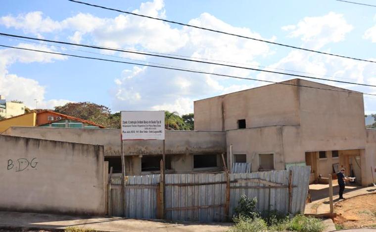 Obras da UBS do bairro Nossa Senhora das Graças em Sete Lagoas são retomadas