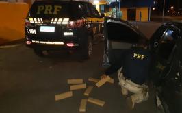 Dois jovens são presos com drogas durante fiscalização da PRF na BR-040 em Sete Lagoas