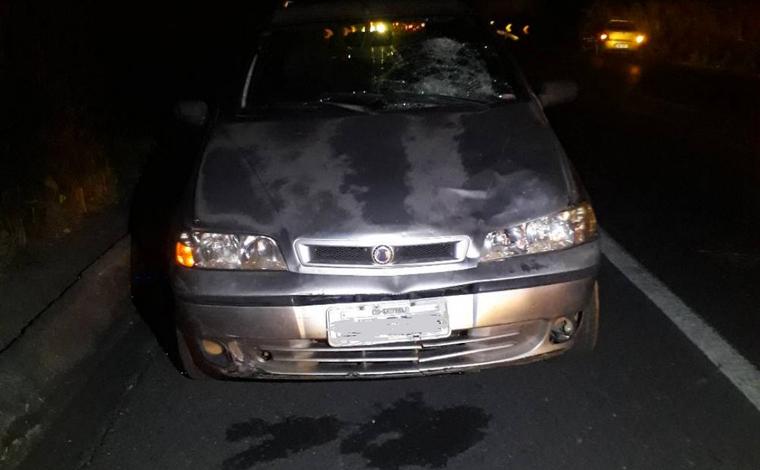 Homem morre após ser atropelado por um carro na MGC-259, em Curvelo