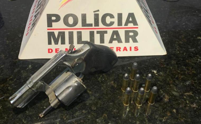 Polícia Militar prende homem por posse ilegal de arma de fogo em Pedro Leopoldo